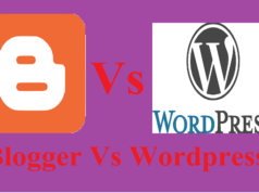 Blogger vs wordpress who is best