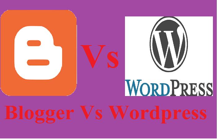 Blogger vs wordpress who is best