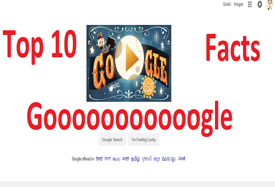 Top 10 Facts Of Google Hindi Me