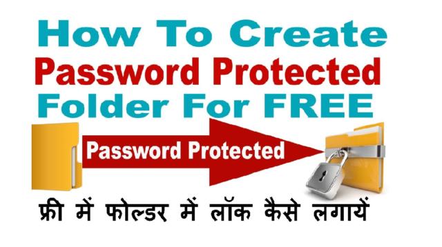 Computer ke Folder ya Files Me Password Se Lock Kaise Lagaye