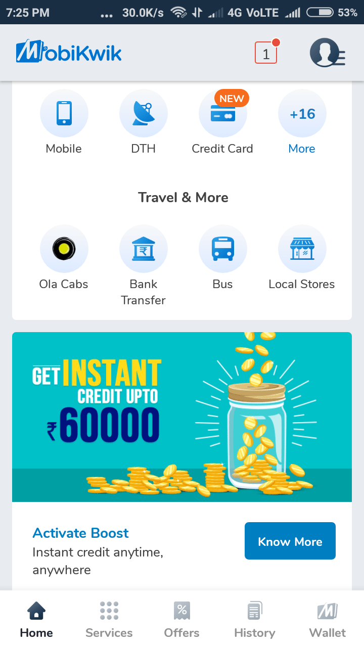 Mobikwik loan offer1