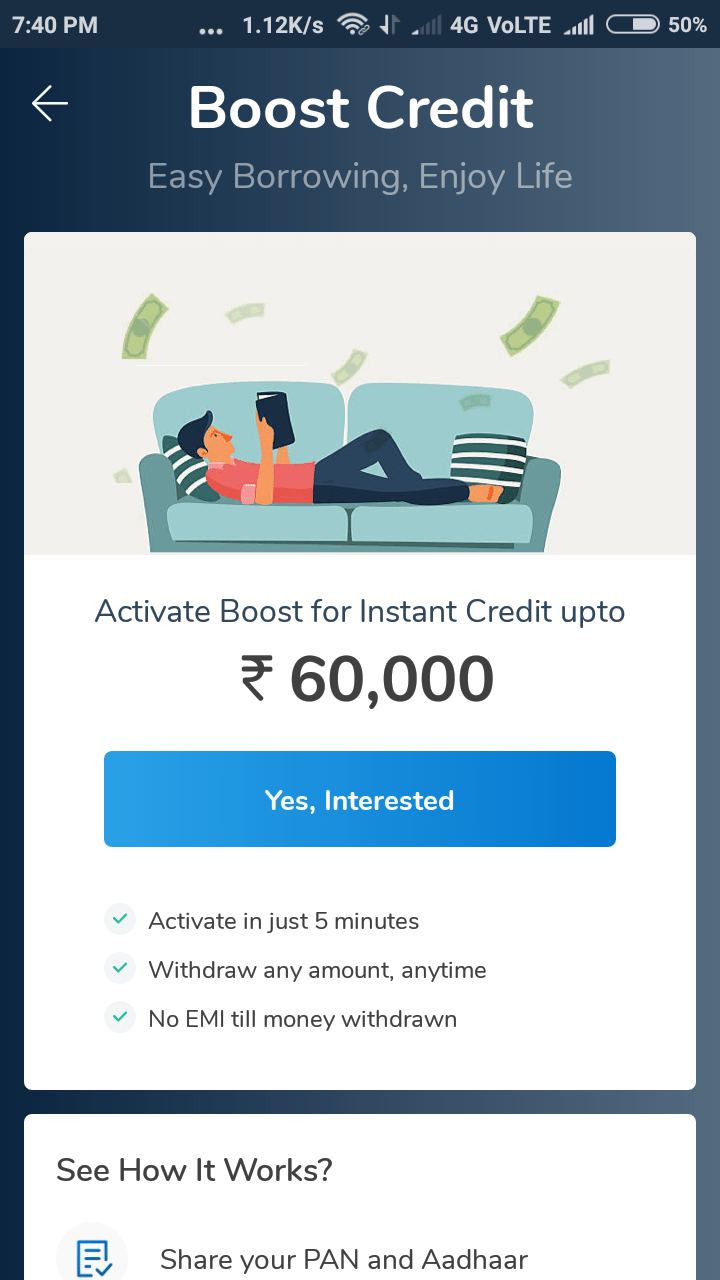 Mobikwik loan offer2