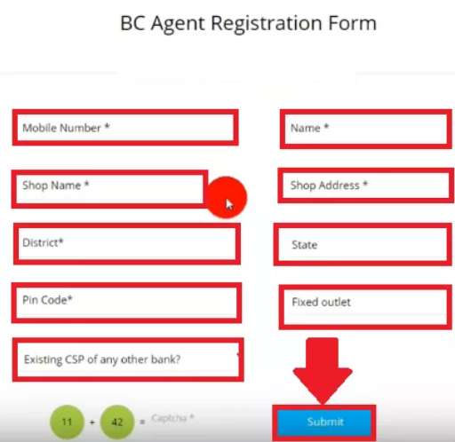 paytm bc registration form