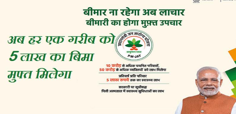 आयुष्मान भारत योजना ( Ayushman Bharat Scheme )2018 की सम्पूर्ण जानकारी